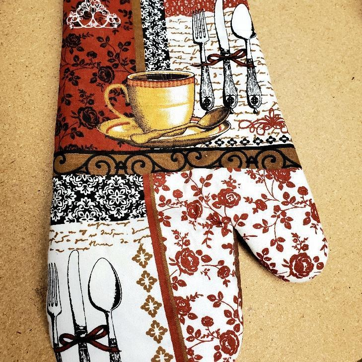 Coffee Time Kitchen Linens Oven Mitt