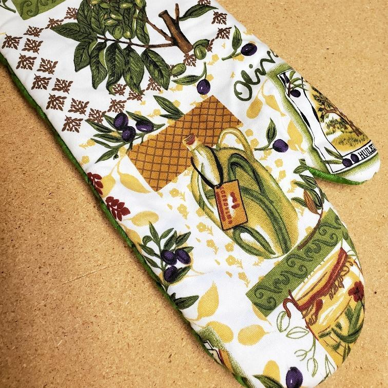 Italian Olives Kitchen Linens Oven Mitt