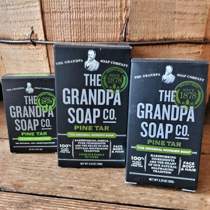 Pine Tar Soap by Grandpa Soap Company