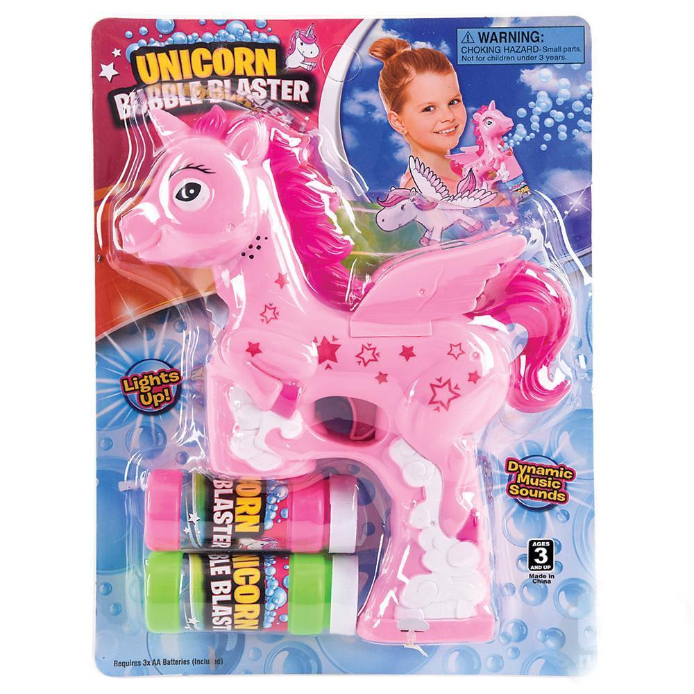 Unicorn Bubble Blaster Pink