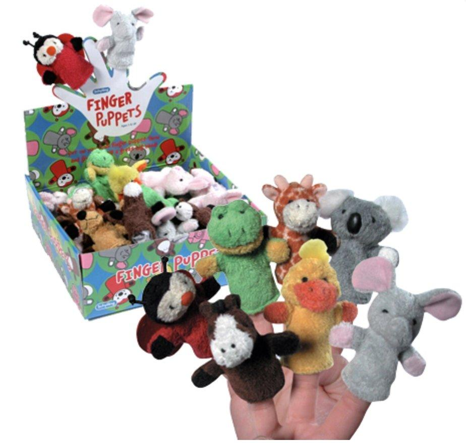 Plush Finger Puppets
