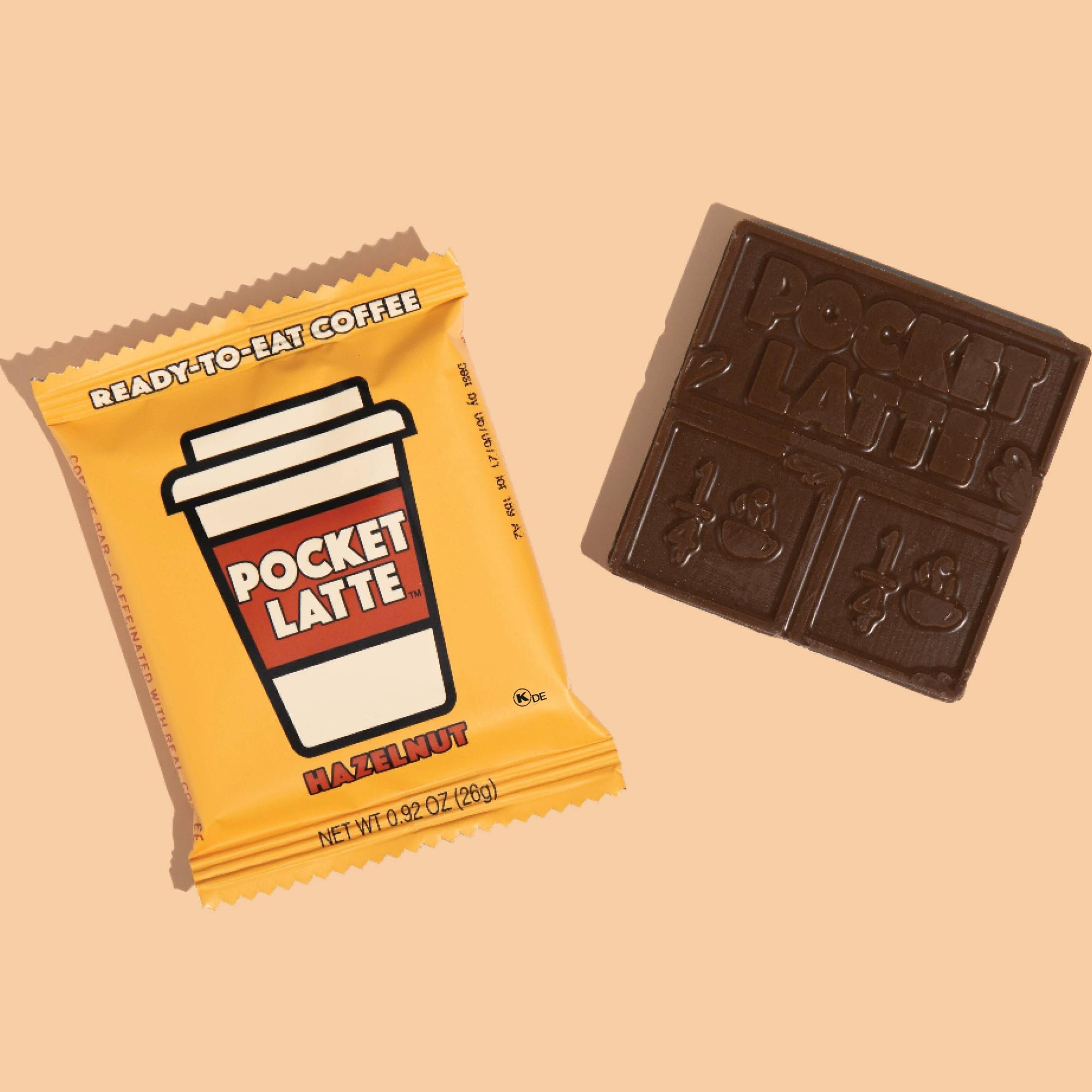 Pocket Latte Ready to Eat Coffee Chocolate Squares