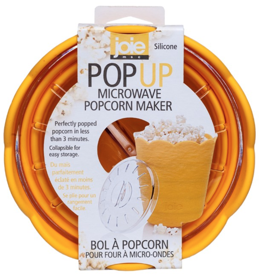 Pop Up Microwave Popcorn Maker