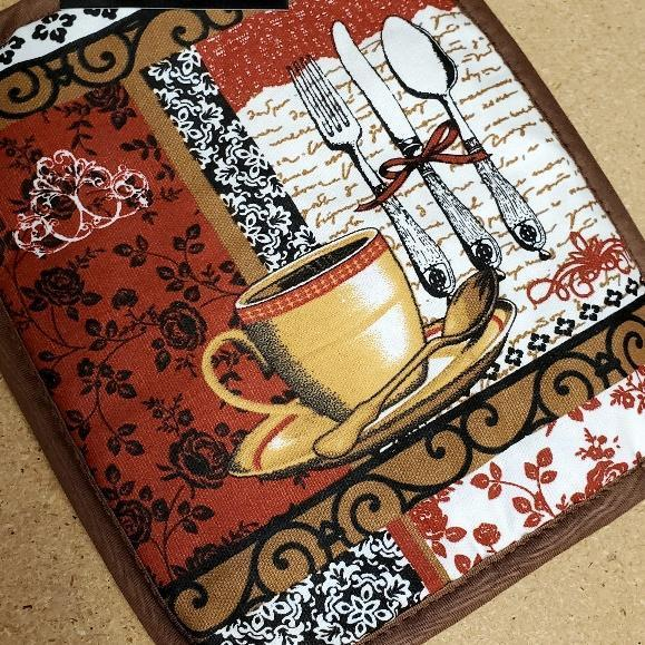 Coffee Time Kitchen Linens Pot Holder