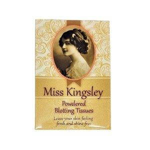 Powdered Blotting Tissues - Miss Kingsley