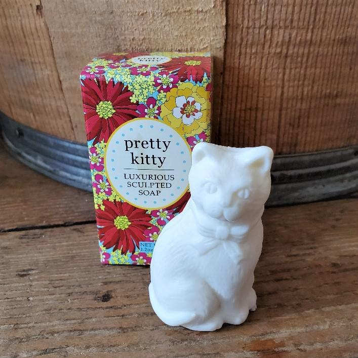 Luxurious Sculpted Kitty Soap Pretty Kitty