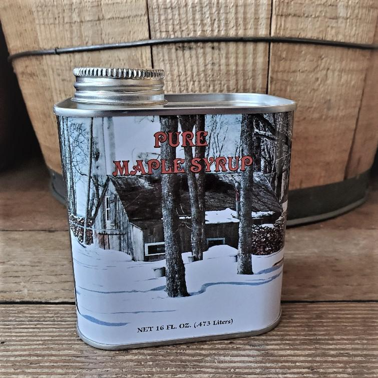 Pure Maple Syrup 16 oz. Tin
