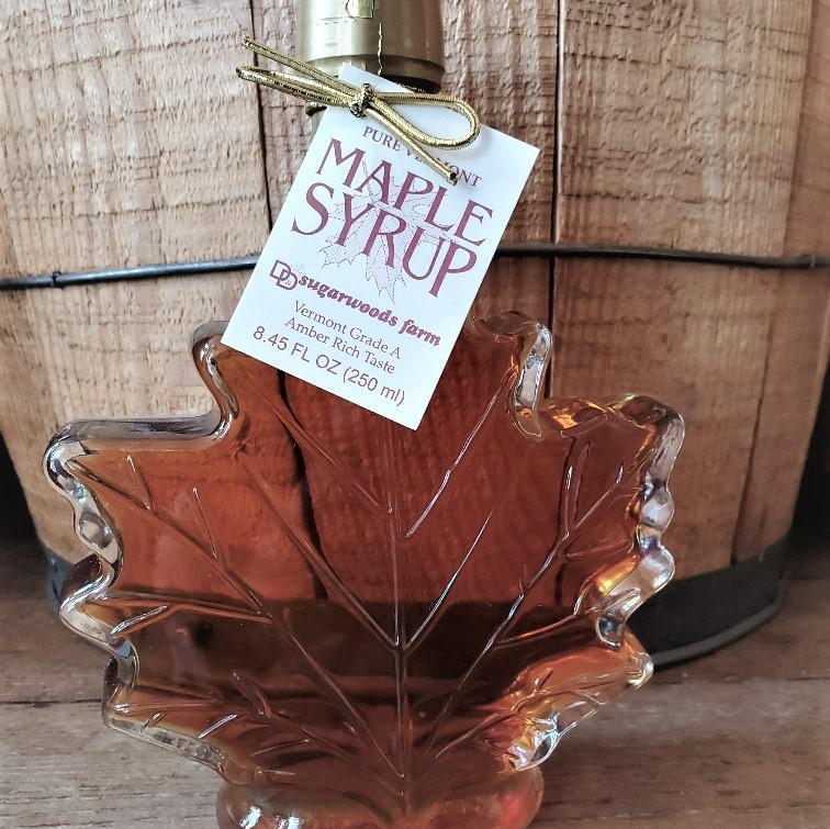 Pure Maple Syrup Maple Leaf - Vermont Grade A