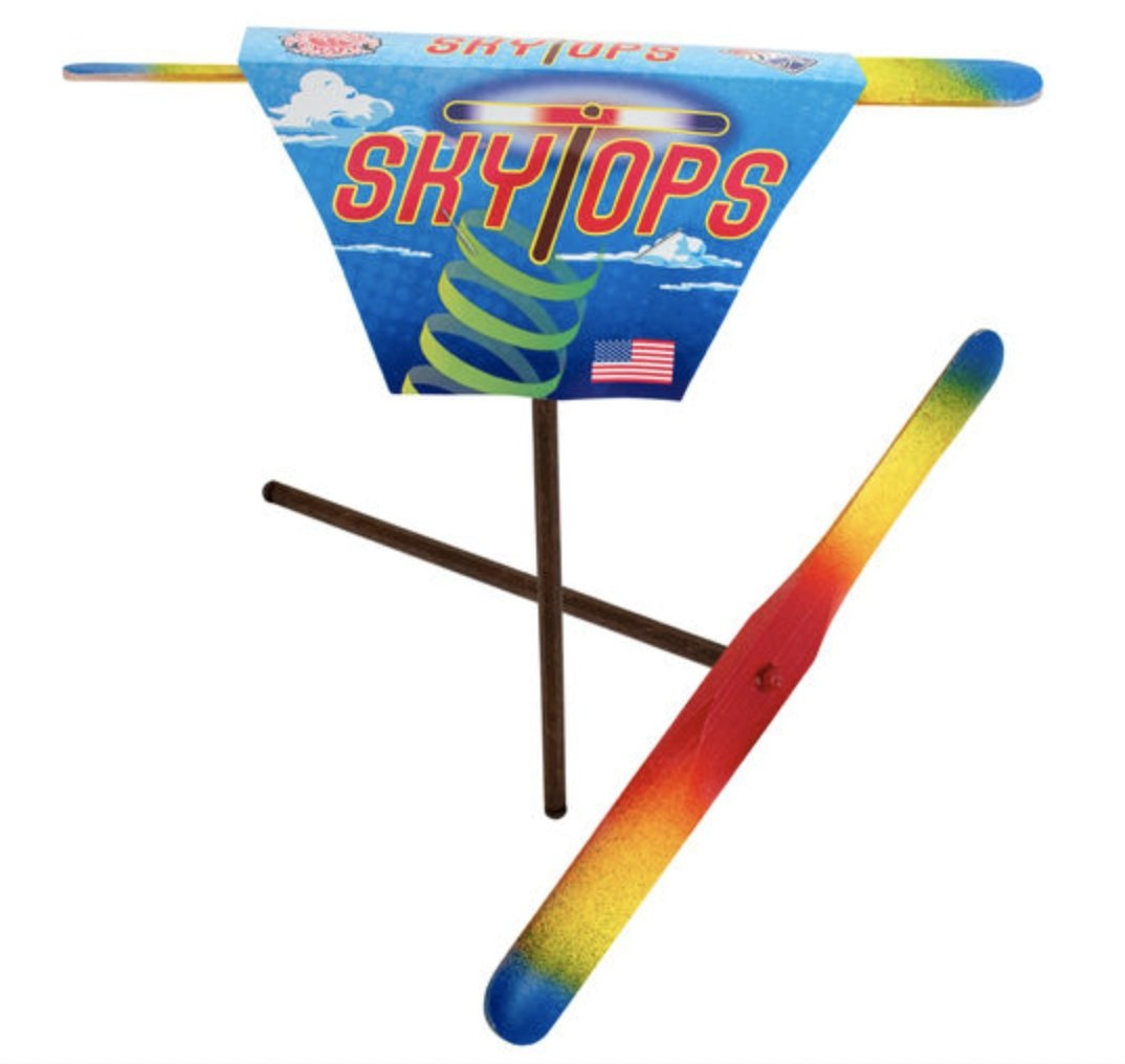 Rainbow Sky Top Outdoor Toy