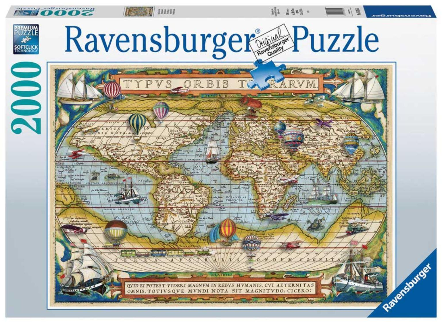 Ravensburger Around the World 2000 Piece Puzzle