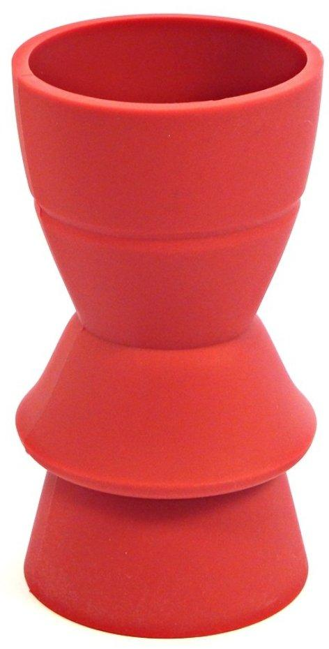 Infusion Living Reforms Convertible Bud Vase Red