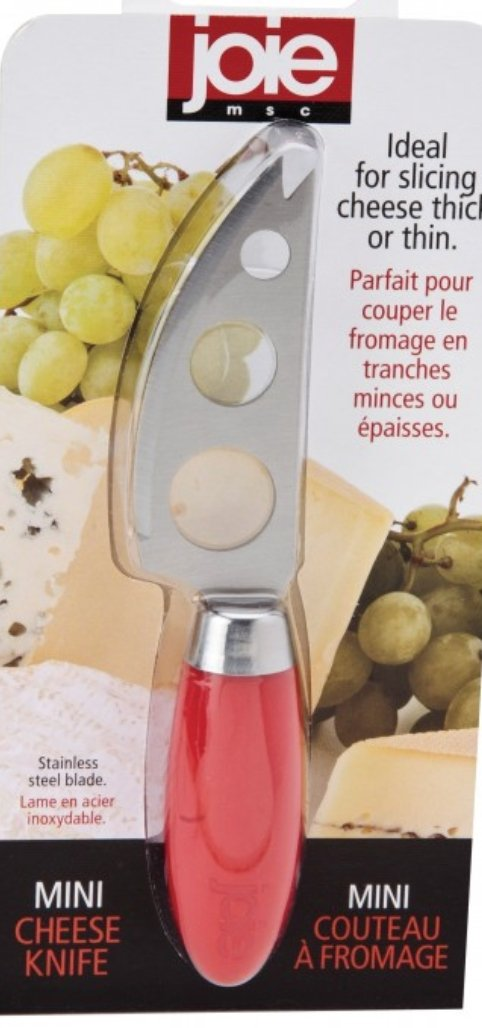 Joie Mini Cheese Knife Red