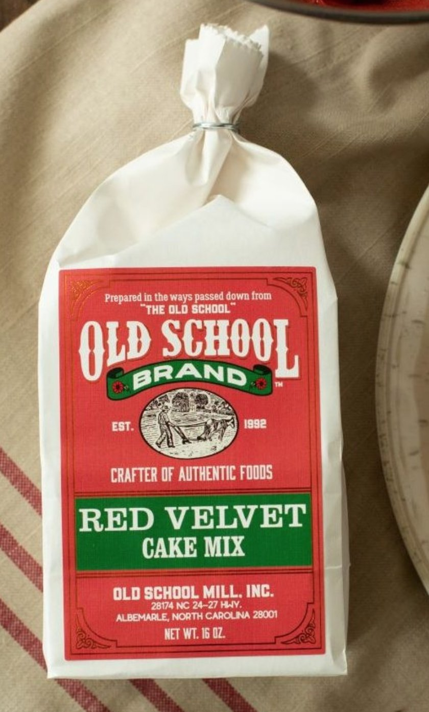 Red Velvet Cake Mix By Old School Brand