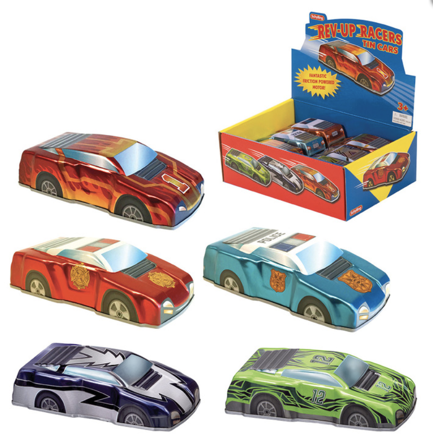 Rev-Up Racers Tin Trucks