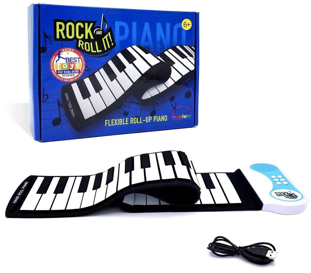 Rock And Roll It - Flexable Roll Up Piano