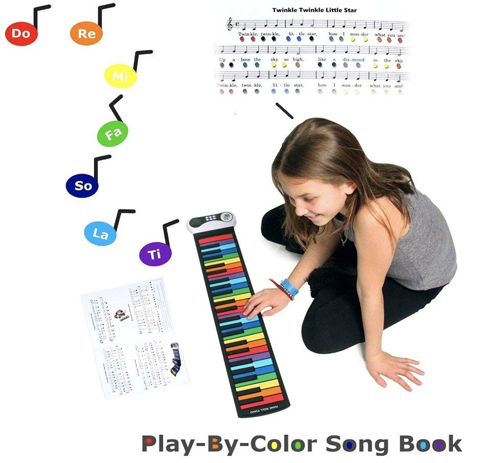 Rock And Roll It - Rainbow Roll Up Piano