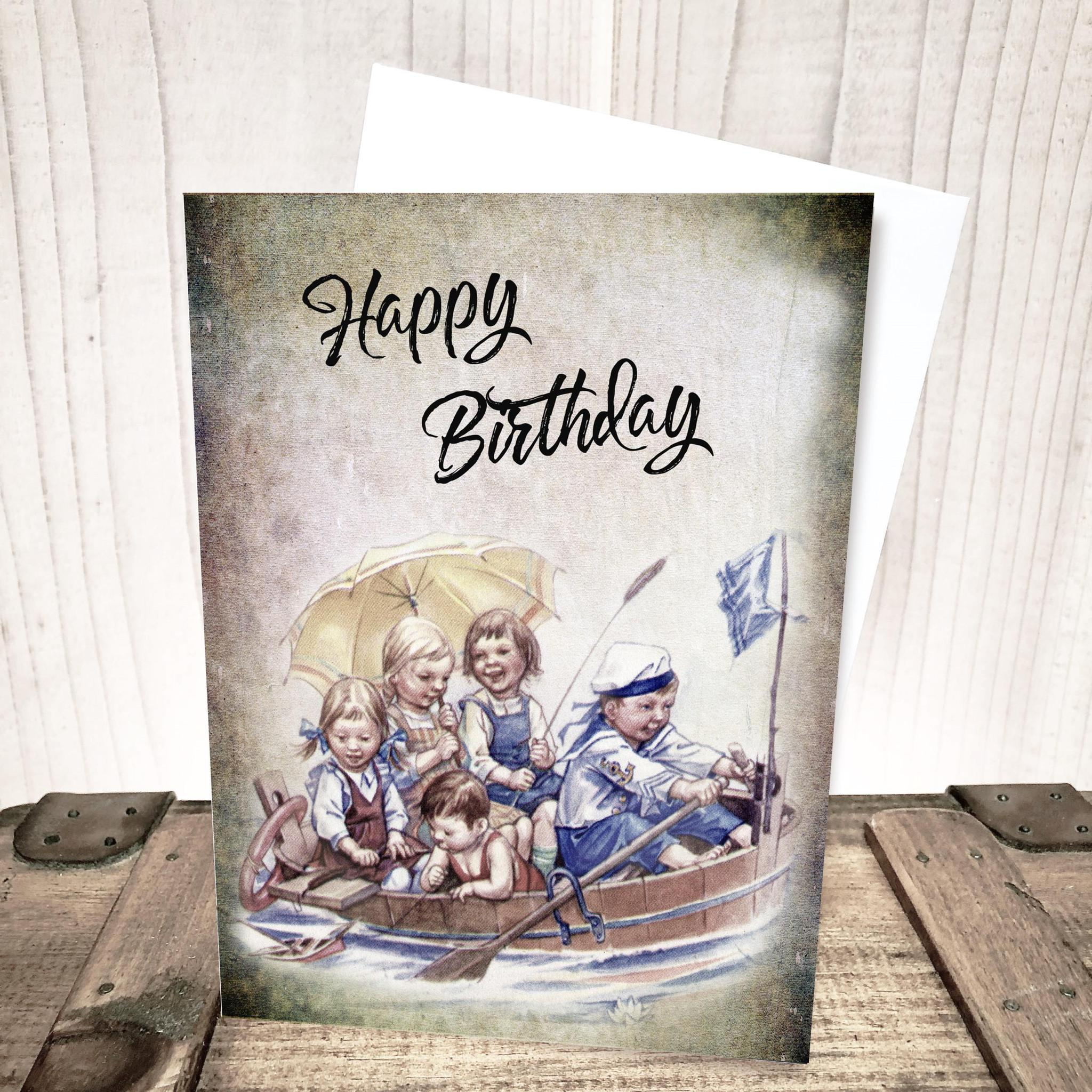 Storybook Kids Birthday Card by Yesterday's Best
