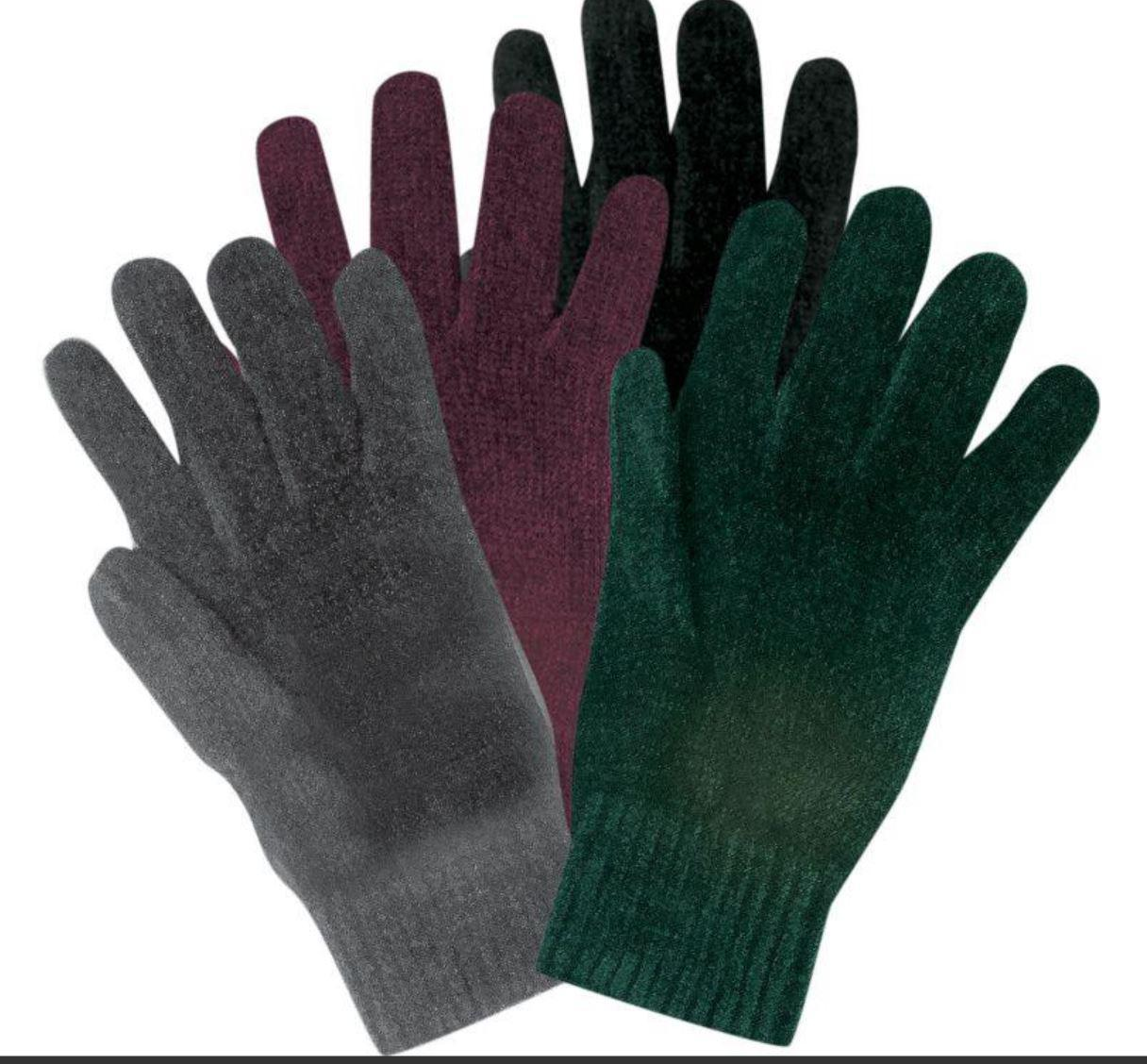 Stretch Chenille Glove
