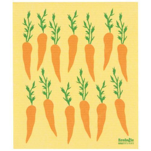 Swedish Dishcloth Towel Carrot