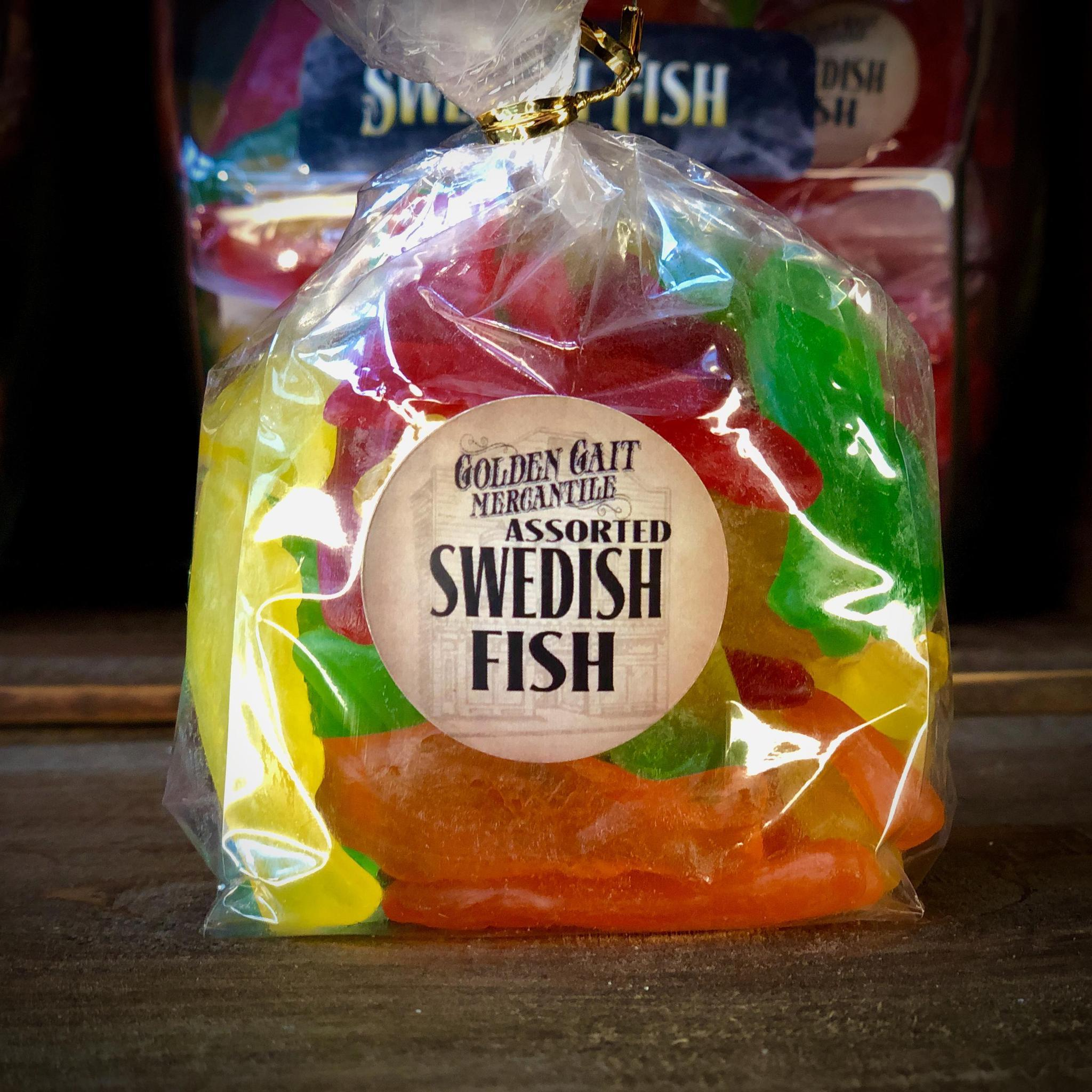 Swedish Fish Assorted  By The Golden Gait Mercantile