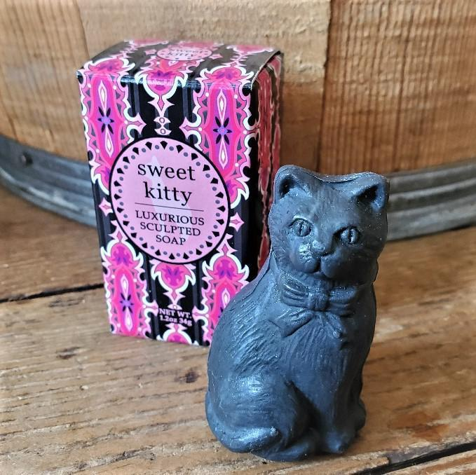 Luxurious Sculpted Kitty Soap Sweet Kitty