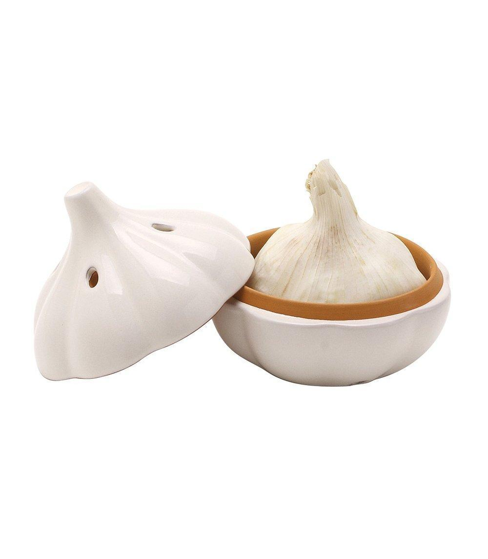 Terracotta Garlic Storage Pod