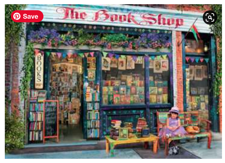 The Bookshop 1000 Piece Puzzle
