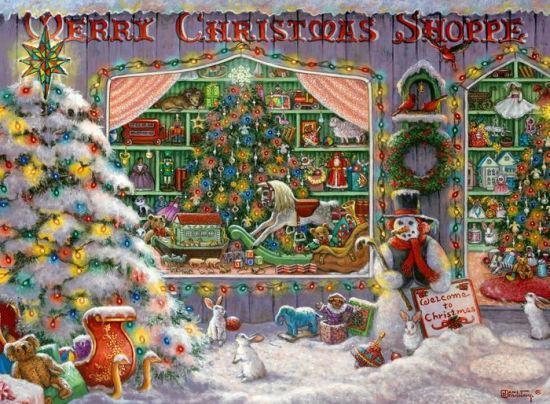 The Christmas Shop 500 Piece Puzzle by Ravensburger - New for 2020