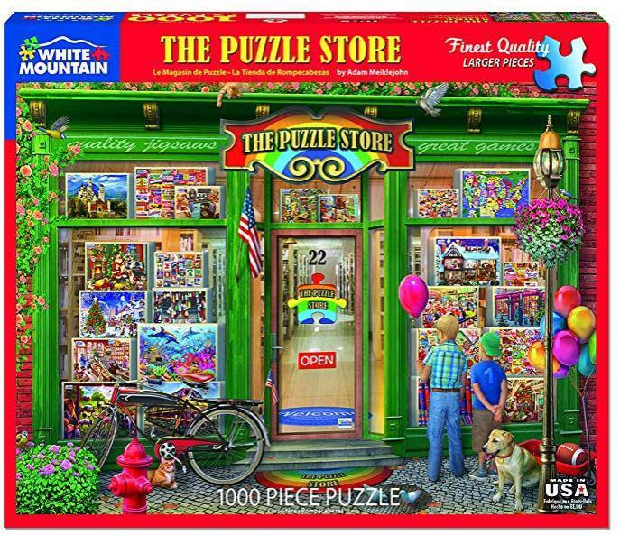 The Puzzle Store 1000 Piece Jigsaw Puzzle by White Mountain Puzzle