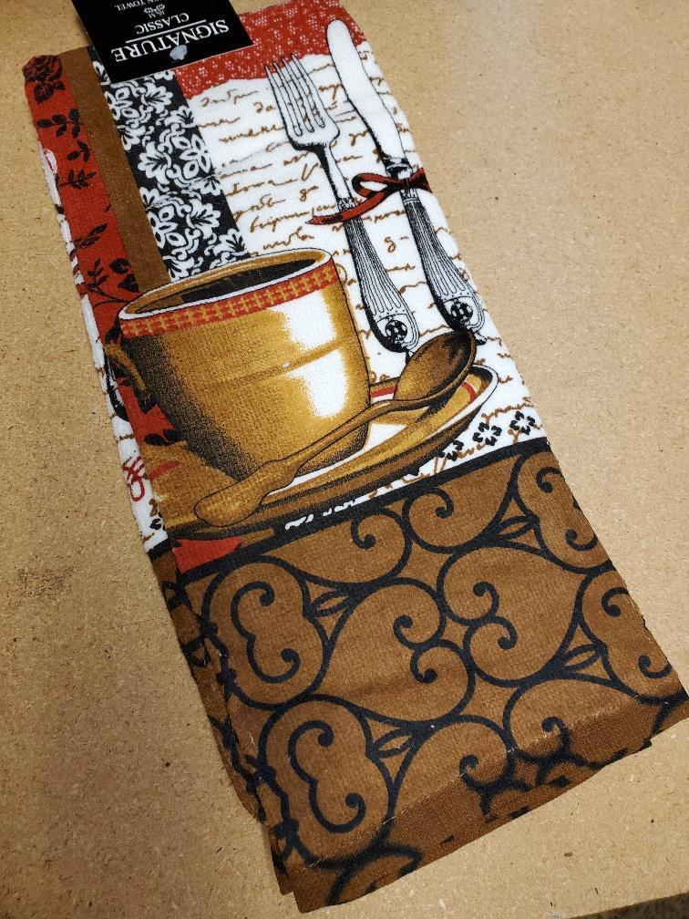 Coffee Time Kitchen Linens Towel