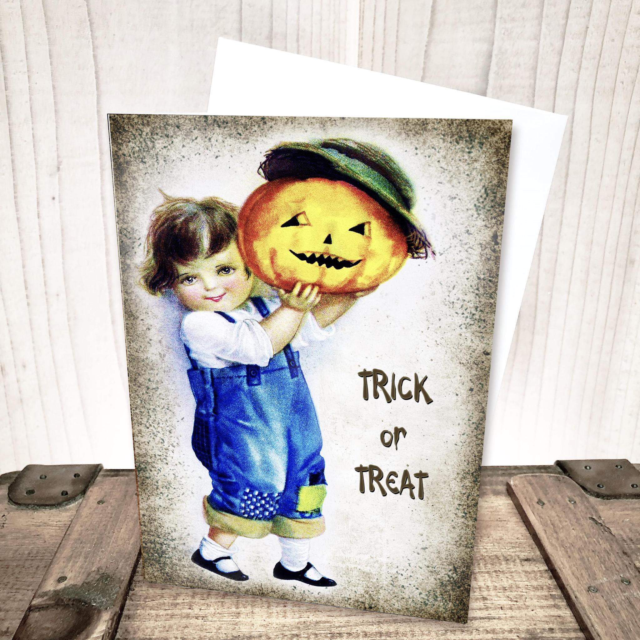 Trick or Treat Halloween Card by Yesterday's Best