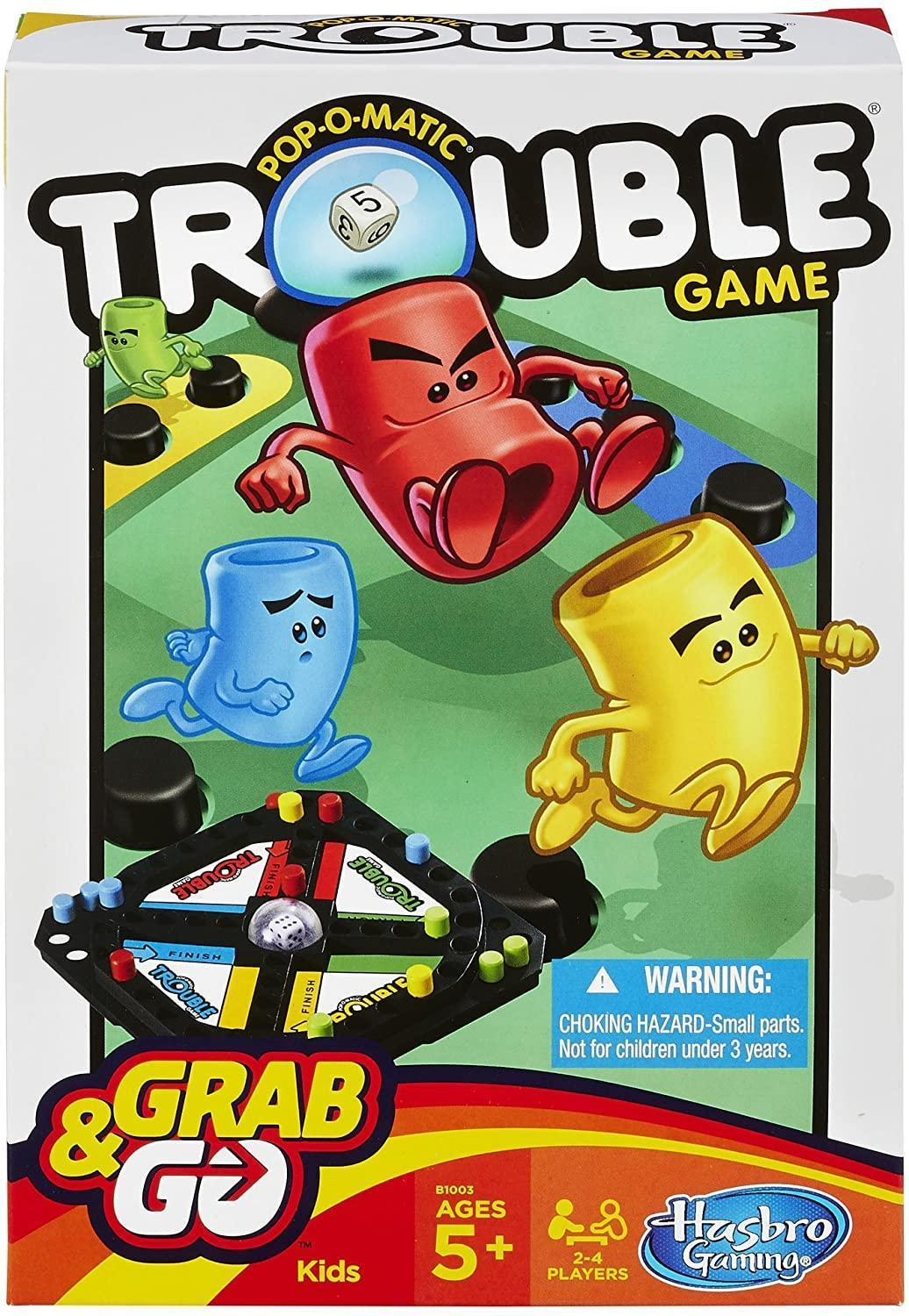 Trouble Grab & Go Game Pop-O-Matic