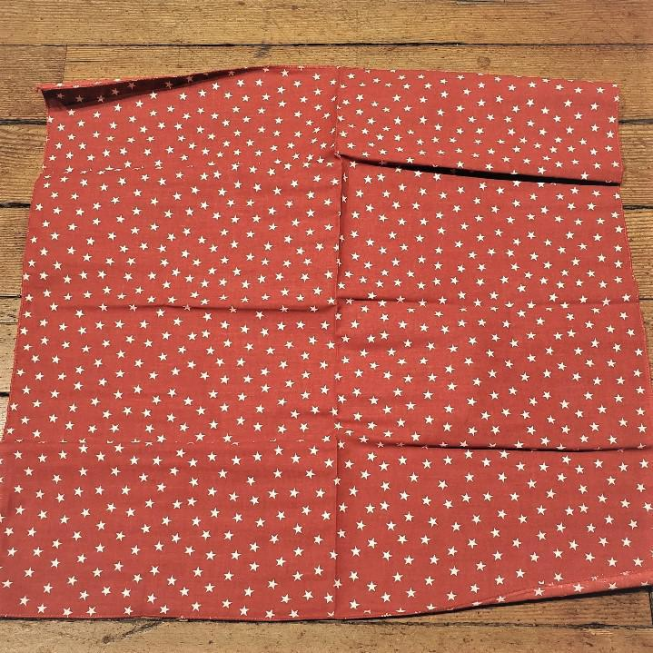 Bandanna Twinkle Stars Red