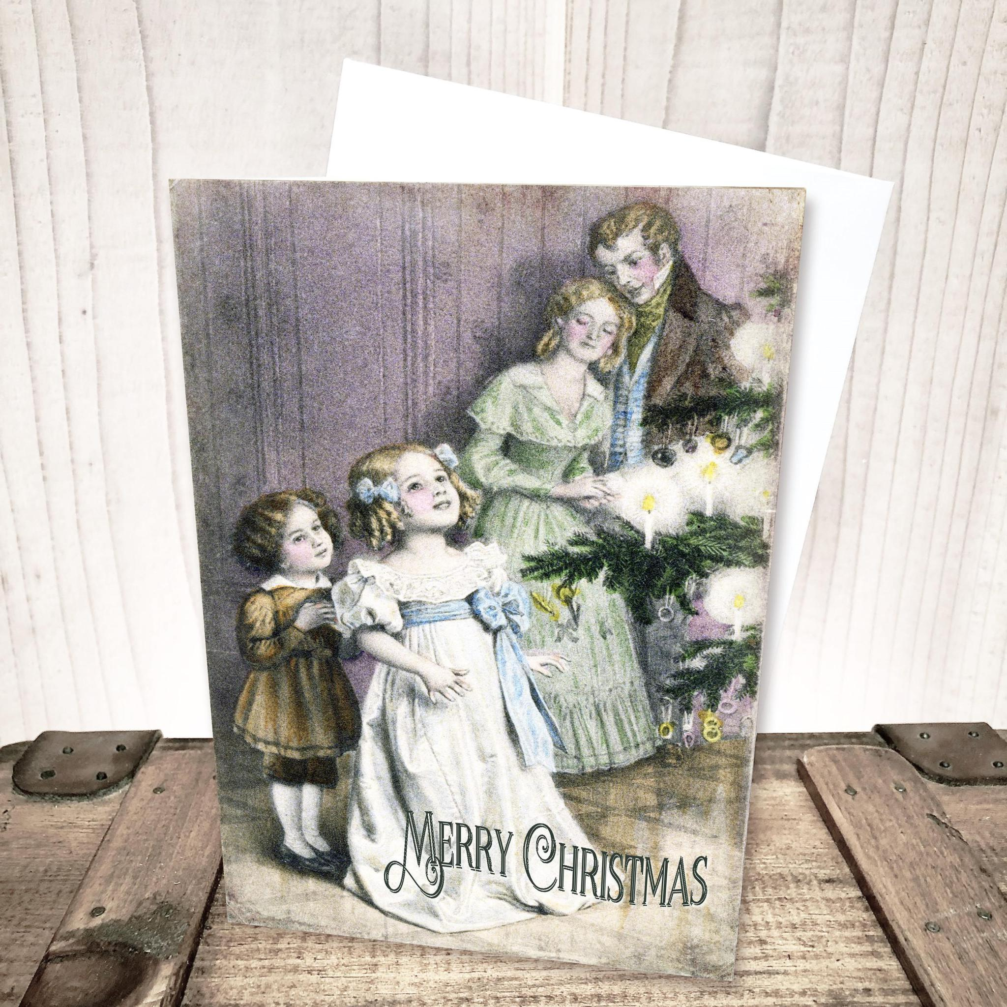 Victorian Merry Christmas Card by Yesterday's Best