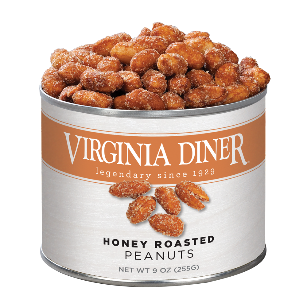 Virginia Diner Honey Roasted Virginia Peanuts