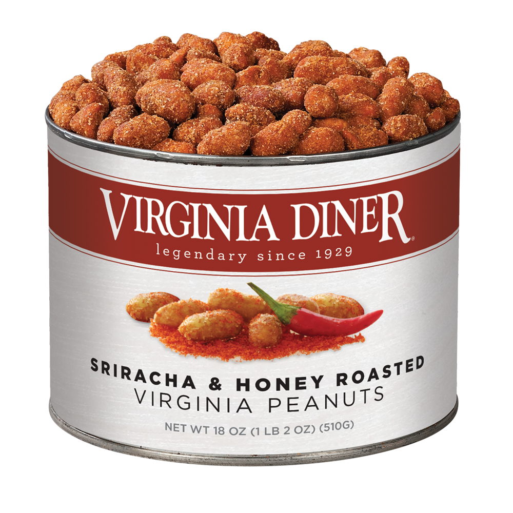 Virginia Diner Sriracha and Honey Roasted Peanuts