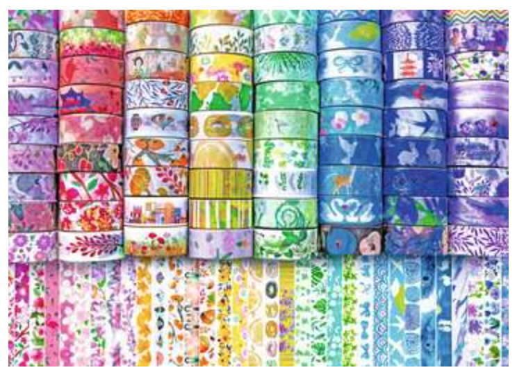Washi Wishes 300 Piece Large Pieces Puzzle