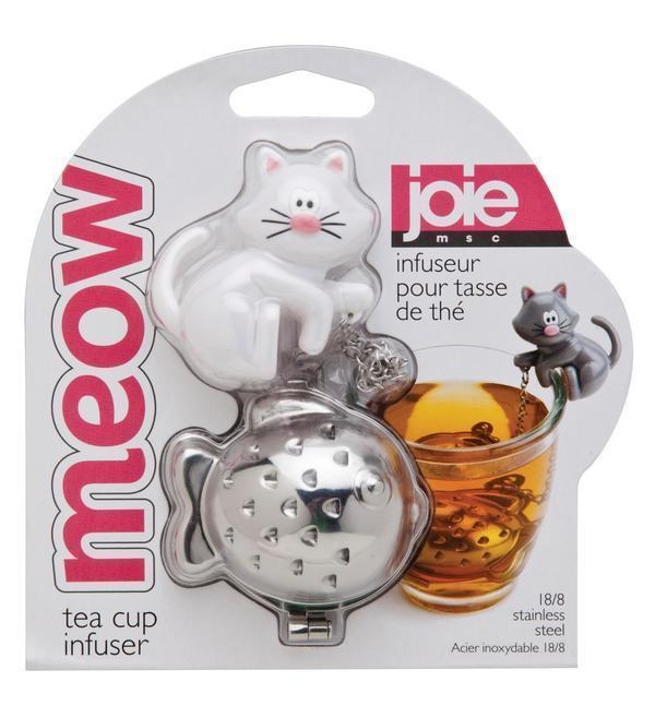 Cat Meow Tea Infuser White Cat