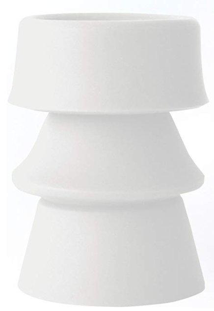 Infusion Living Reforms Convertible Bud Vase White