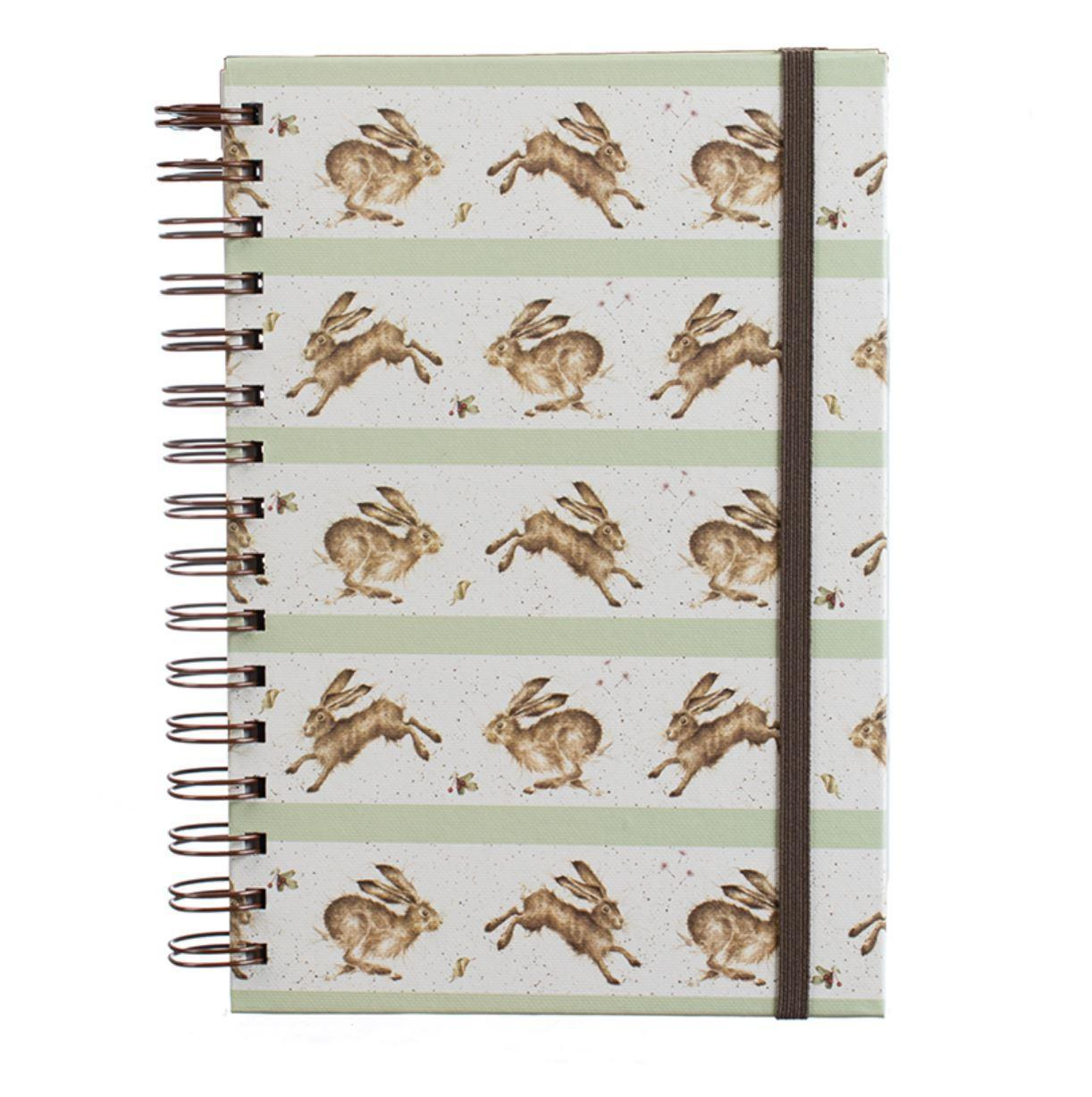 Wrendale 'Leaping Hare' Rabbit Spiral Bound Journal