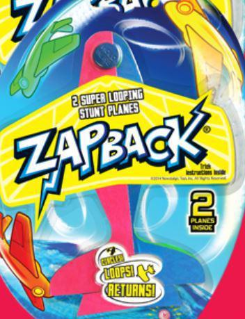 Zap Back Looping Plane - 2 Pack
