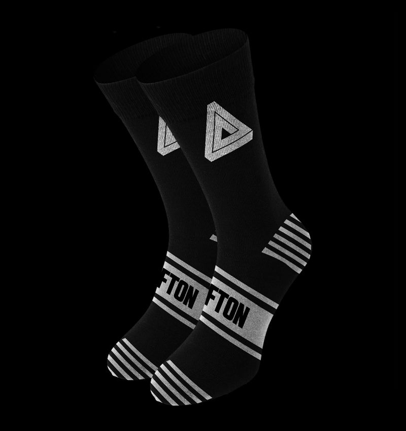 Icon Socks 2.0 Black / White