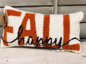 Happy Fall Mini Pillow