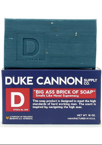 Big Ass Brick of Soap Navy Blue
