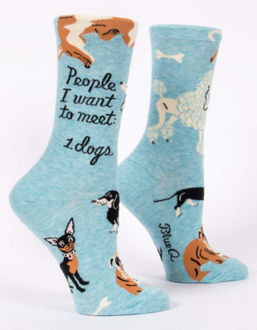 People I Want To Meet Women's Socks