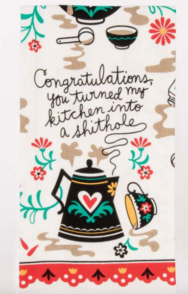 Congratulations Tea Towel