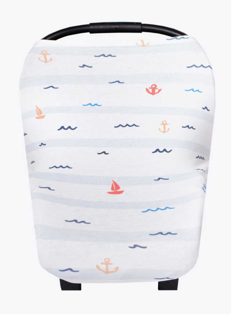 Nautical Carseat Cover