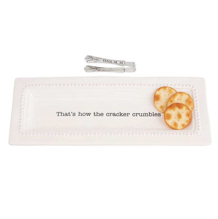 Thats How The Cracker Crumbles Serving Tray