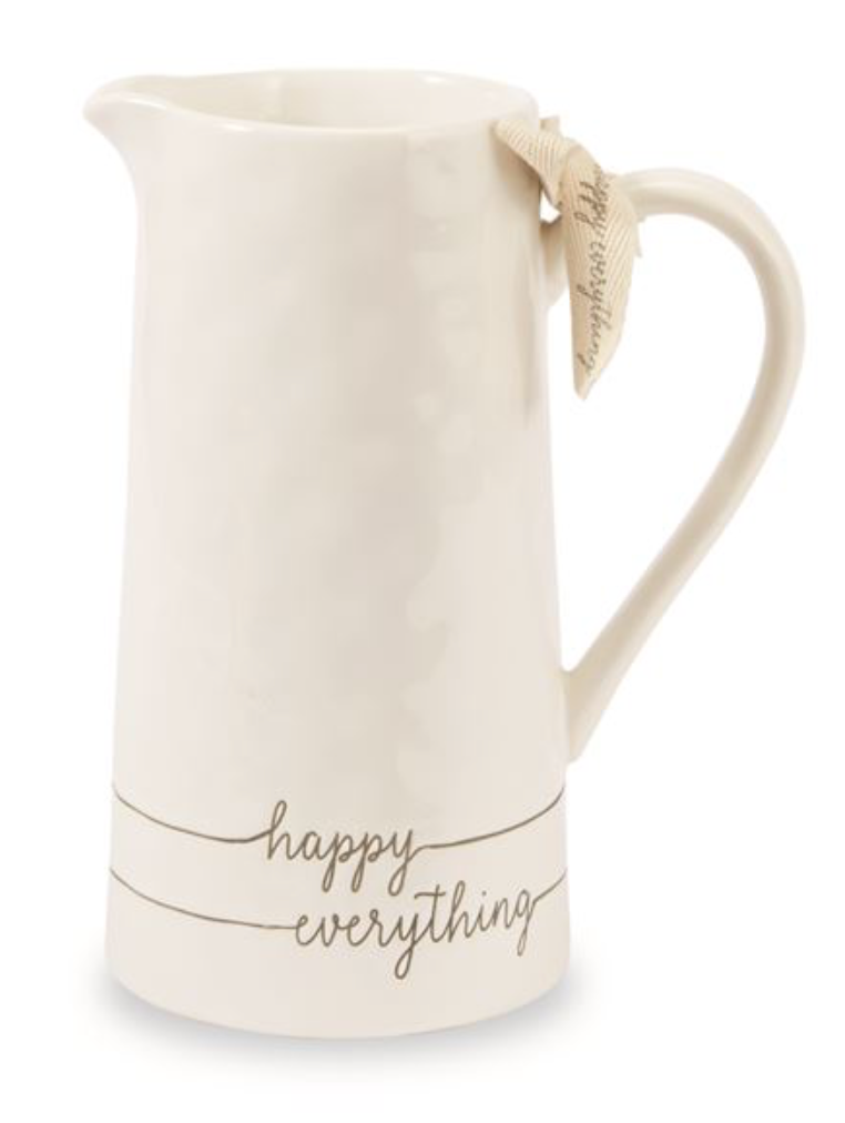 Happy Everything Pitcher