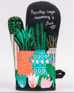 Parsley, Sage, & Rosemary Oven Mitt